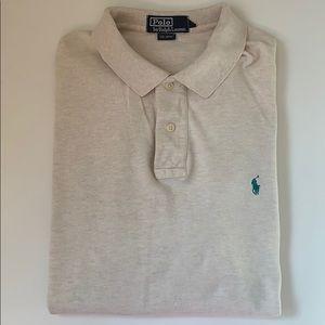 Ralph Lauren classic button up polo shirt!